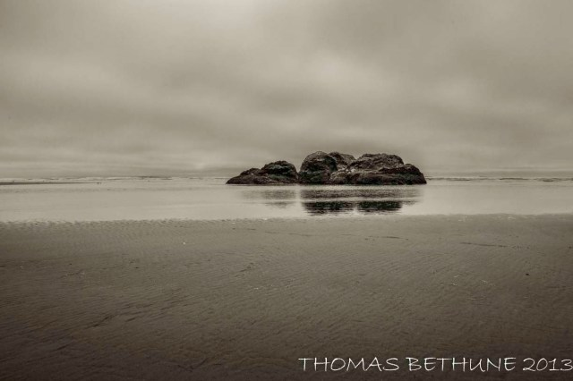 Low Tide at Moonstone Beach
