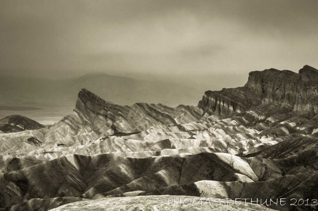 Rainy Morning at Death Valley