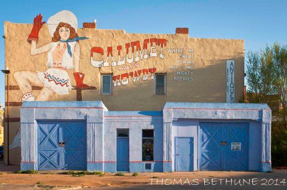Calumet Says Howdy, Las Vegs, New Mexico-1