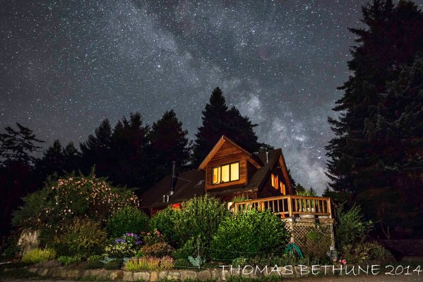 Friday Evening at the Home Place With the Milky Way Revised-1