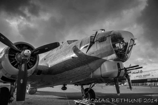 Collings Foundation B-17 909 at ACV 2012