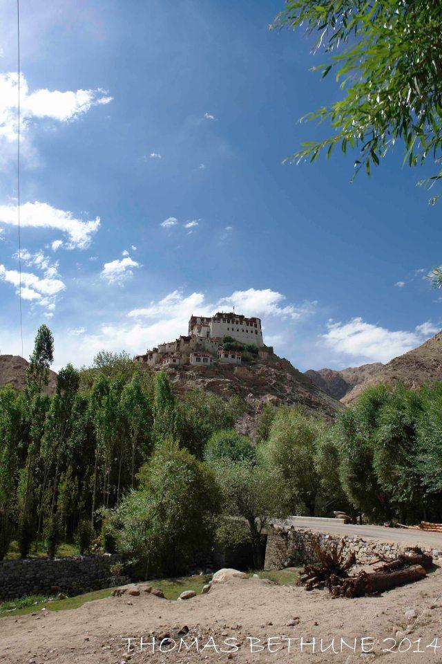 Chemrey Monastery from the village.