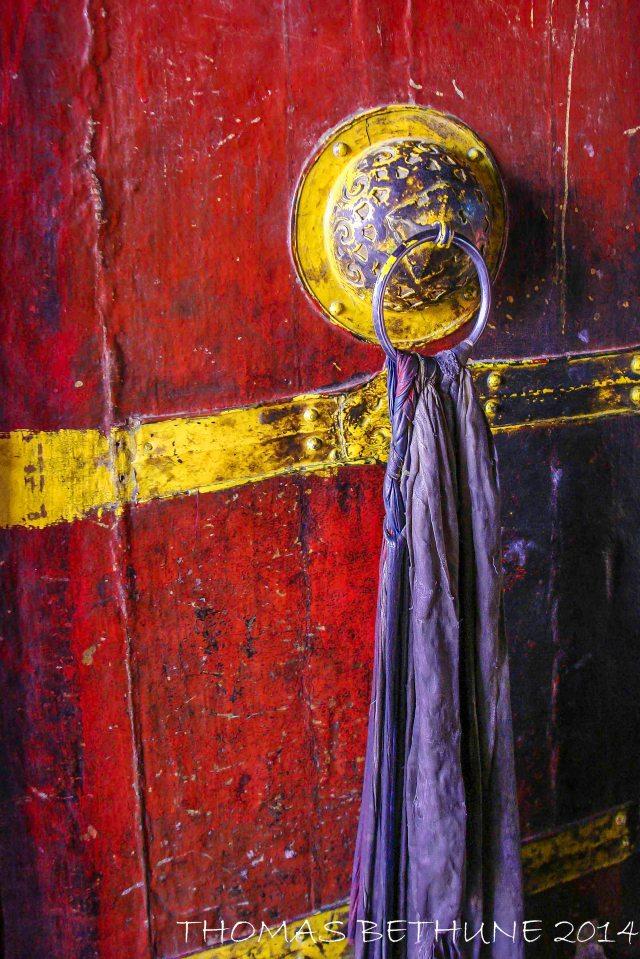 Door to monastery.