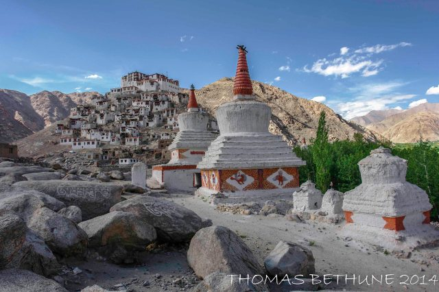 Chemrey and Stupas.