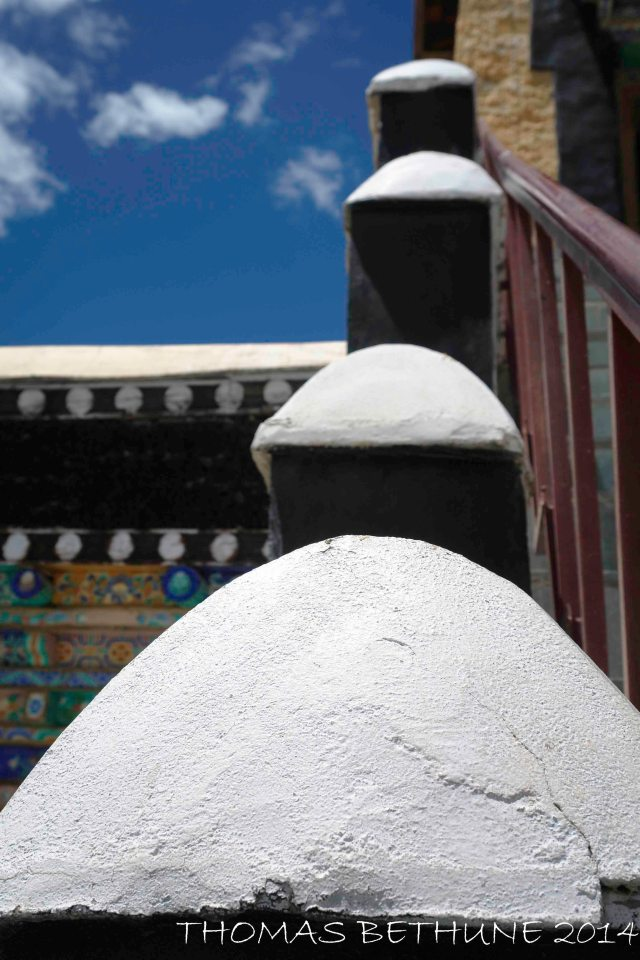 Detail, Thiksey Monstary, Ladakh, 2008-3