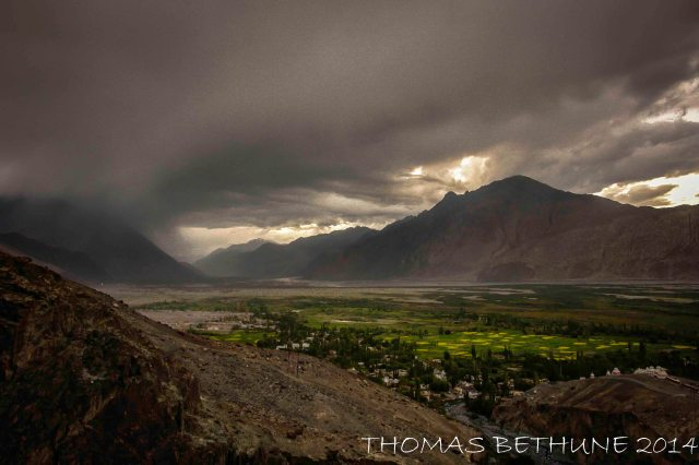Diskit Sunset, Ladakh, 2008