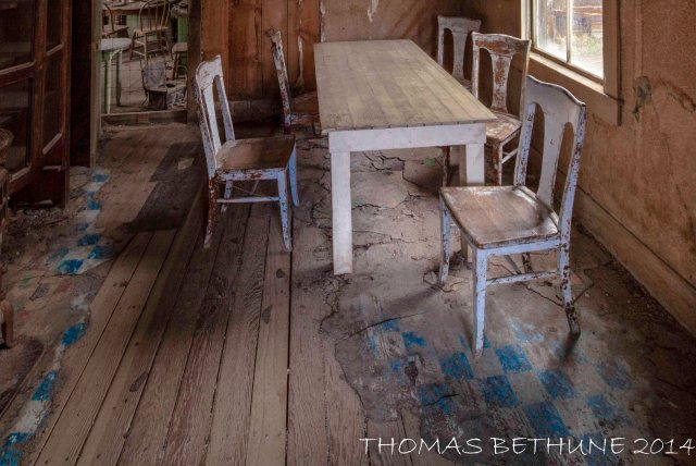 Empty Chairs, Bodie 2014