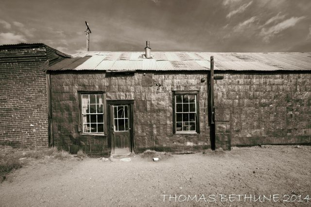 Bodie Series Tin Building_