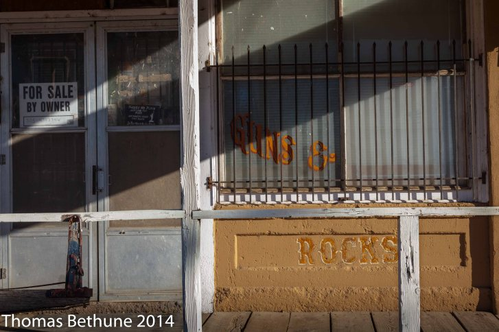 Guns and Rocks, Cerrillos, New Mexico (13 of 1)